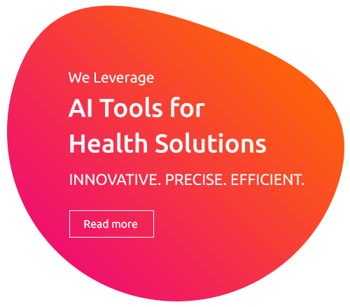RAD365 WE LEVERAGE AI Tools for Health Solutions INNOVATIVE.PRECISE.EFFICIENT.